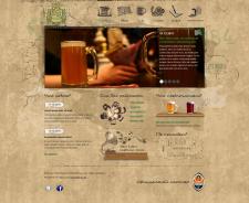"""Сайт частной пивоварни """"Генрих Шульц"""""""