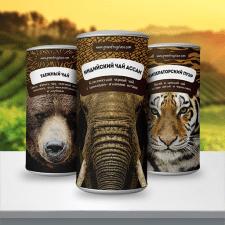 Разработка дизайна упаковки Индийский чай