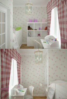 Квартира (33м.кв.) (детская)