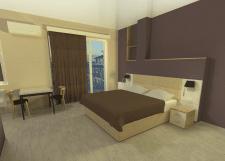 Гостиница, типовой апартамент №55, 2