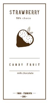 Реклама кафе Candy Fruit