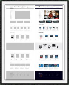 Разработка прототипа и дизайна интернет-магазина.