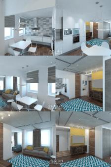 Дизайн квартиры loft