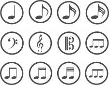 Іконки музика