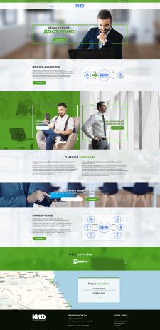 Дизайн landing page. КИФ.