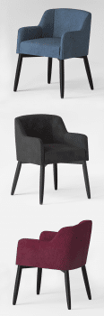 3D Model Meridiani Lola Chair