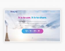 SHARYNG | landing page design