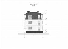Эскизный проект малоквартирного дома.