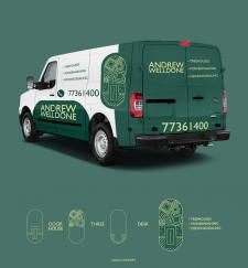 Логотип и дизайн для брендирования авто