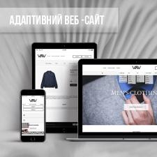 Розробка інтернет-магазину чоловічого одягу
