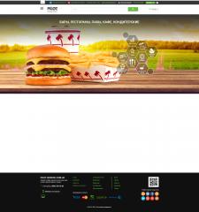 Дизайн активного баннера для портала по ресторанам