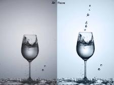 Бокал воды