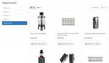 Наполнил интернет магазин на Opencart товарами