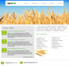 Дизайн сайта для агропромышленного предприятия