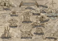 Иллюстрация игровой карты