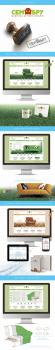 Дизайн логотипа и сайта для фабрики «СемБру»