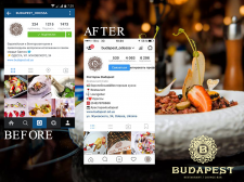 Комплекс SMM для ресторана Budapest