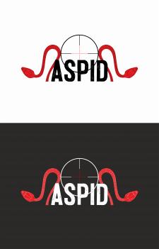 """""""ASPID"""" Разработка логотипа для оружейной компании"""