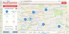 Mapcount - Iнтерактивна карта акцiй
