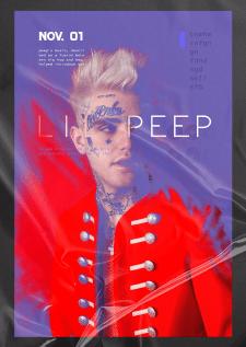 Арт постер Lil Pepp