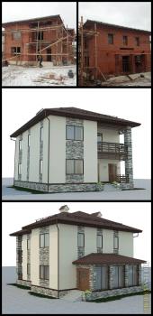 Проект частного дома в г.Чехов