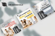 Баннеры для Air household