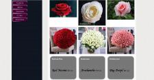 Сайт для магазина цветов