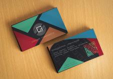 Дизайн и разработка фирменного стиля визиток