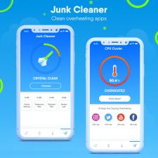 Дизайн мобильного приложения -  Junk Cleaner