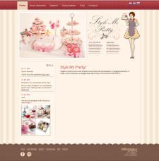 Дизайн и адаптивная верстка сайта на вордпресе