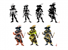 разработка персонажа 1