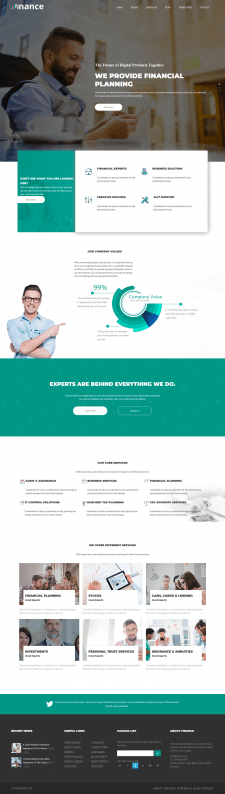 Landing Page Finance