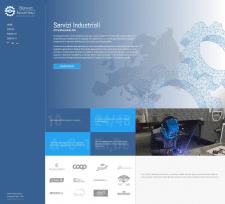 Корпоративный сайт для Итальянской компании