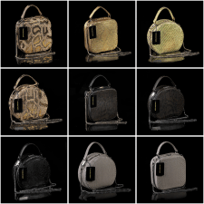 Предметная съемка сумок из кожи питона