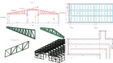 Проектування каркасної будівлі із металокнструкцій