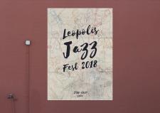 Плакат для джазового фестиваля Leopolis Jazz Fest
