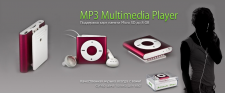 MP3 Player Banner