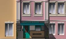 Розробка дизайну фасаду кав'ярні