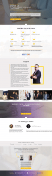 landing page bootstrap + jquery