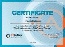 Certificate QA