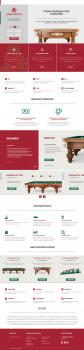 продажа бильярдных столов и аксессуаров
