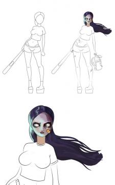 Разработка персонажа