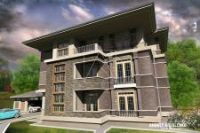 Квартирный жилой дом