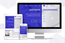 Адаптивный сайт ITServiced