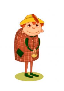 Персонаж для мультфильма