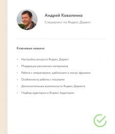 Резюме Яндекс.Директ