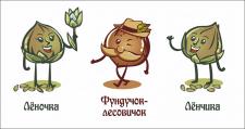 Персонажи для этикетки Урбеч вкуснеч
