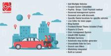 CMS создана на laravel для аренды автомобилей