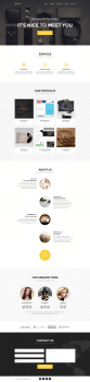Golden-One-Page-Web-Template