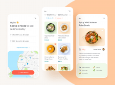 Nearby Food App